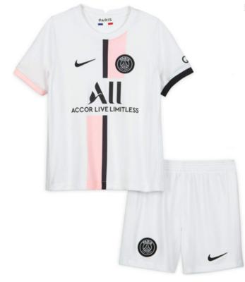 Paris Saint-Germain PSG Away Jersey Kids Kit 21/22