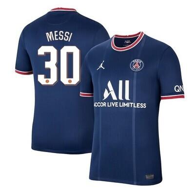 Paris Saint-Germain PSG Home Messi #30 Champion League Jersey