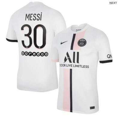 Paris Saint-Germain PSG Away Messi #30 Ligue 1 Jersey