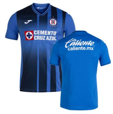 Joma Cruz Azul Home Blue Jersey Shirt 21-22 (Player Version)