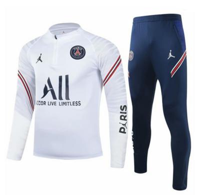 PSG White Training Suit 21-22