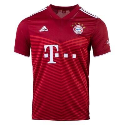 Bayern Munich Home Red Jersey 21-22