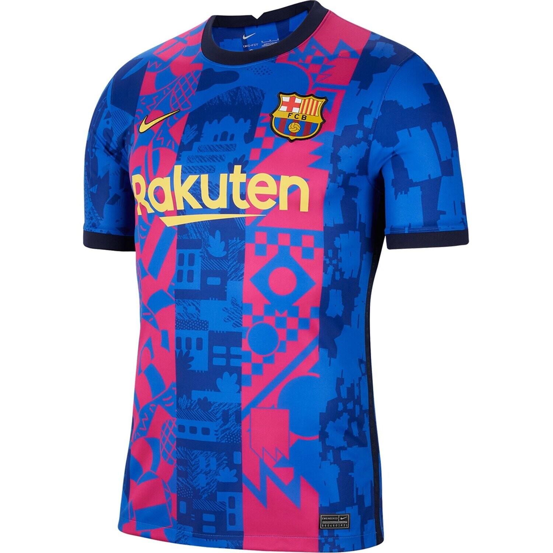 Barcelona Third Soccer Jersey Shirt 21-22