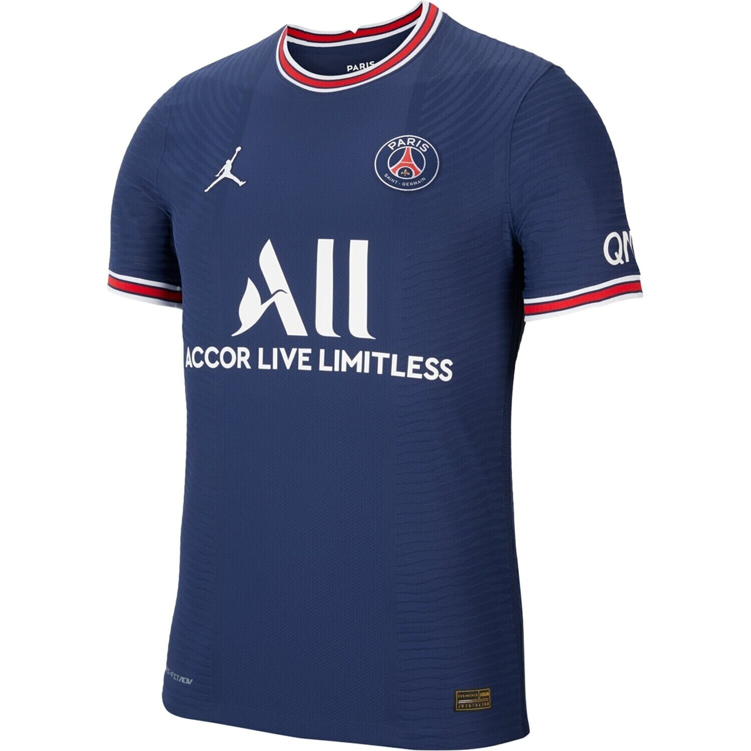 PSG Home Blue Messi #30 Ligue 1 Jersey (Player version)