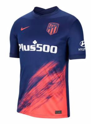 Atletico Madrid Away Soccer Jersey 21-22