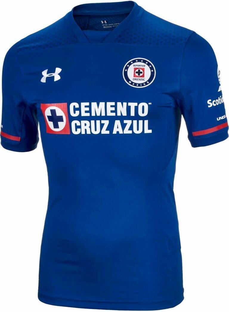 Under Armour Cruz Azul Authentic Home Jersey 17 18