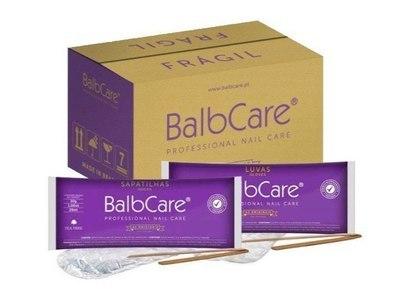 Коробка перчаток (25 уп.) и носков (25 уп.) для Бразильского маникюра и педикюра Balbcare