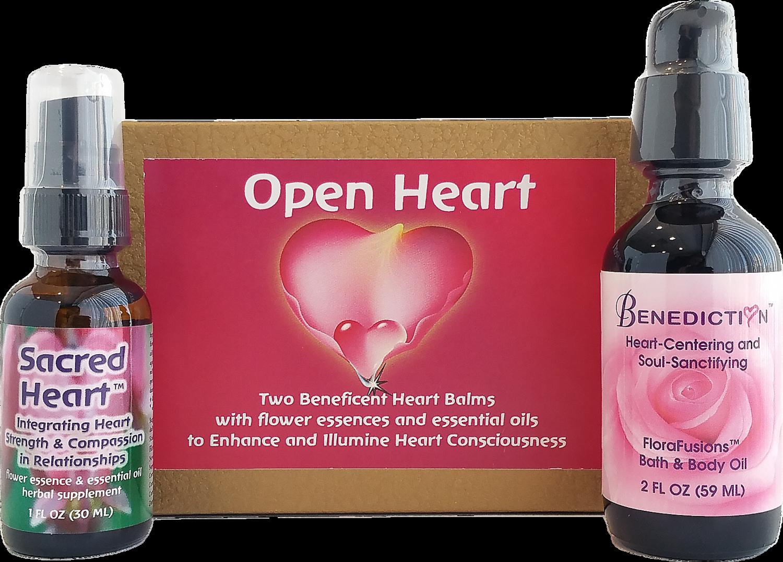 Open Heart Gift Set