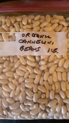 Genesee Valley Bean organic cannellini beans, 1 lb