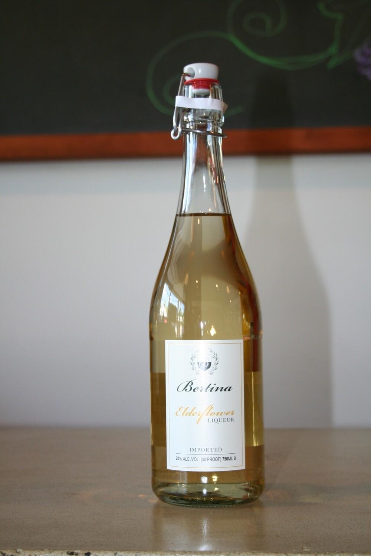 Elderflower Liqueur Bertina
