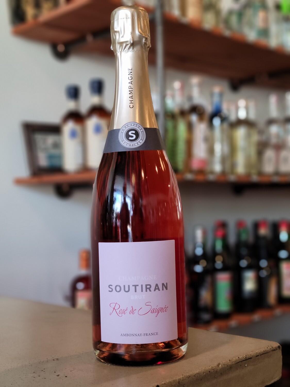Champagne Soutiran Cuvee Saignee De Rose