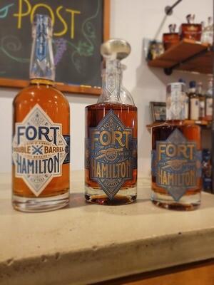 "Fort Hamilton ""Double Barrel"" Rye Whiskey 750 ml"