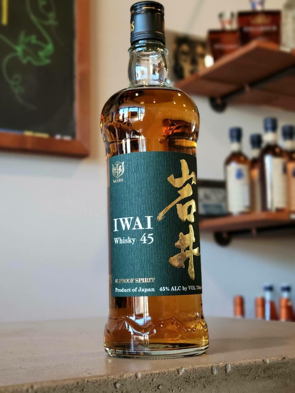 Mars Sunshu Iwai 45 Whiskey