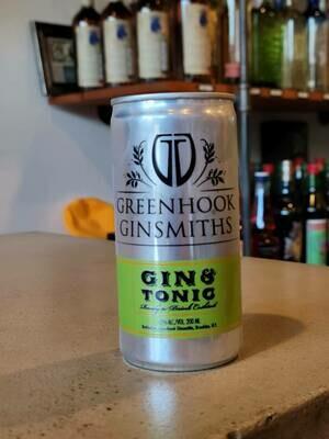 Greenhook Ginsmiths Gin & Tonic