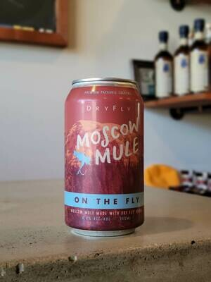 """Dry Fly Distilling """"On the Fly"""" Moscow Mule 12 oz"""