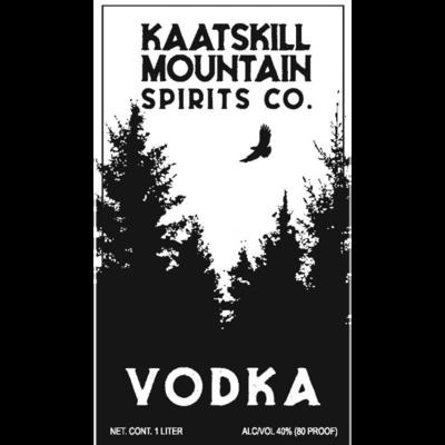 Union Grove Kaatskill Mountain Spirit Vodka Liter