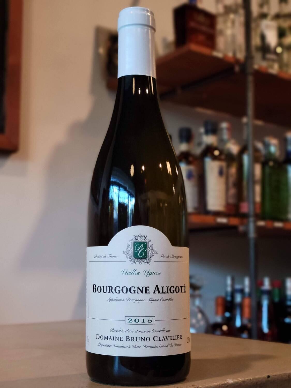 Bruno Clavelier Bourgogne Aligote 2015