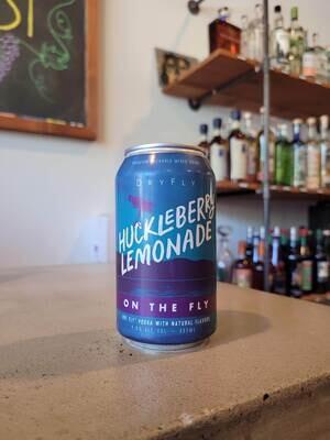 Dry Fly Huckleberry Lemonade 12 oz