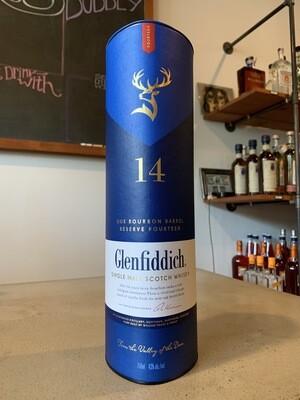 Glenfiddich Scotch 14 YR