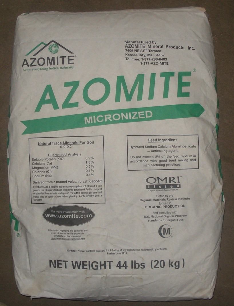 Micronized (LOCAL PICKUP ONLY 40lb bags) SPECIAL ORDER ONLY 00000