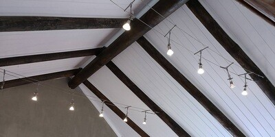 ISOBoard Ceilings - IsoPine Finish