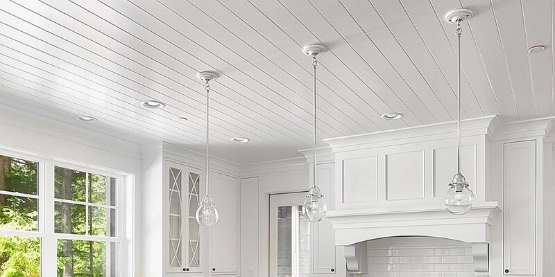 SANBOARD Ceilings - Pine Finish