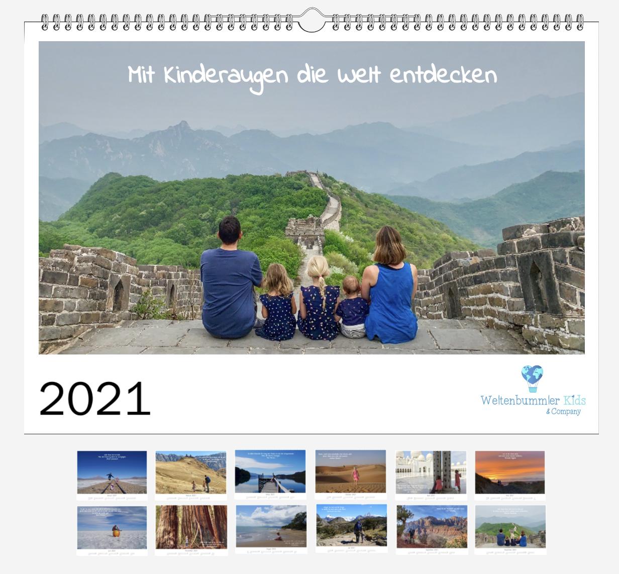 Hol Dir 2021 die Welt nach Hause