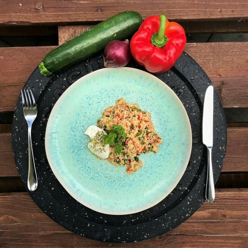 Saisonaler Bulgursalat