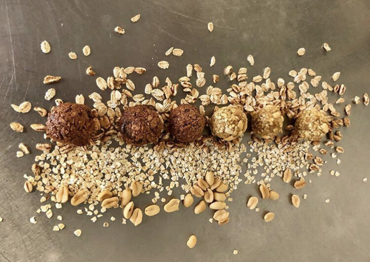 Peanut-Date Balls (only)