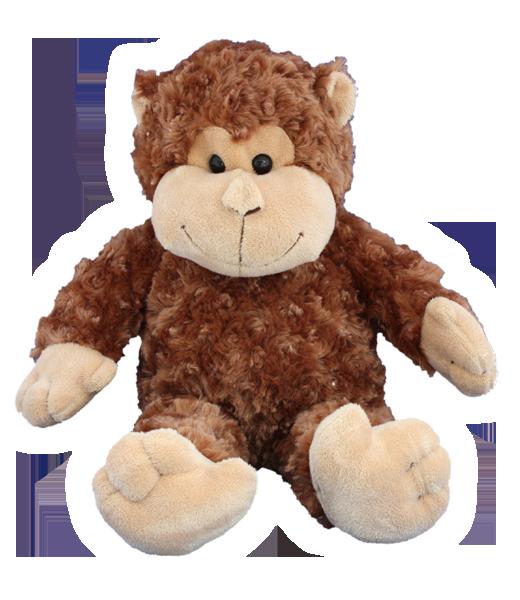Curious The Monkey - Build A Plush Bundle - 16 inches