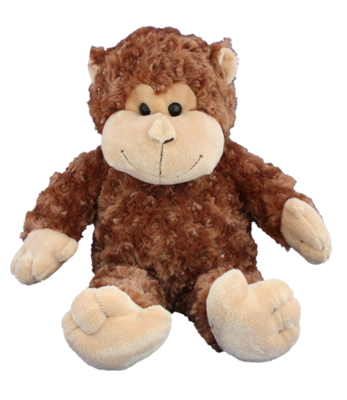Curious The Monkey - Build A Plush Bundle - 16 inches