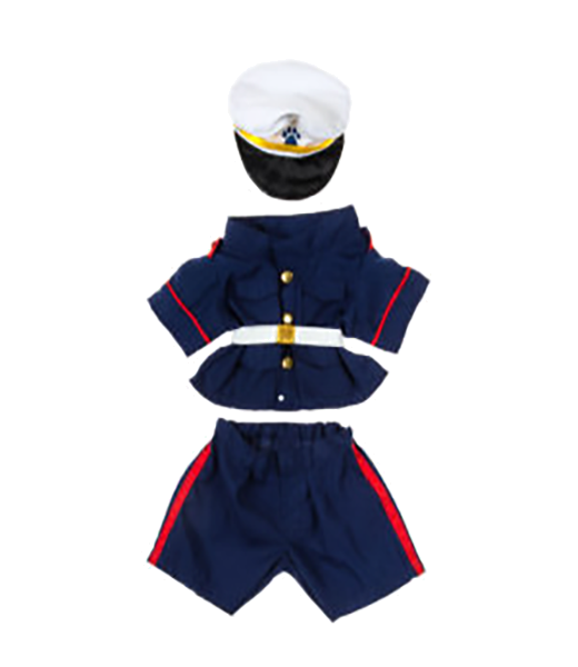 U.S. Marines Dress Blues Outfit - 16 inches