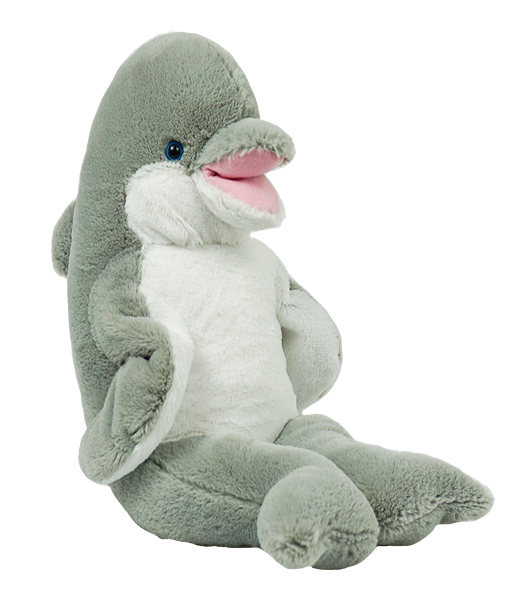 Flipper the Dolphin - Build-A-Plush Bundle - 16 inches