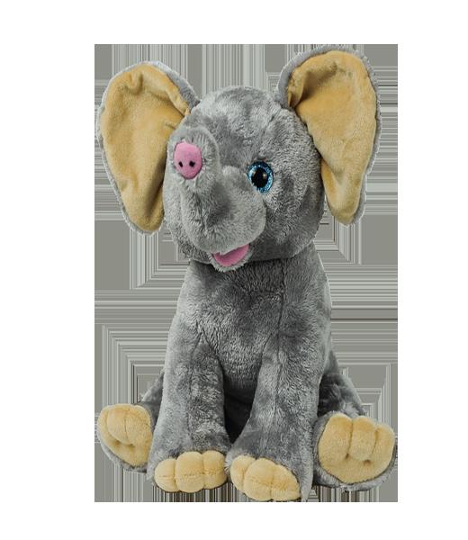 Ellie the Elephant - Build-A-Plush Bundle - 16 inches