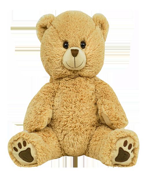 Winslow the Long Hair Bear - Build-A-Plush Bundle - 16 inches