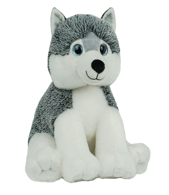 Miska the Husky - Build-A-Plush Bundle - 16 inches