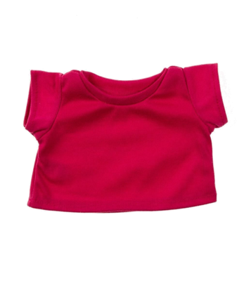 Heliconia Pink Basic T-Shirt - 16 inches