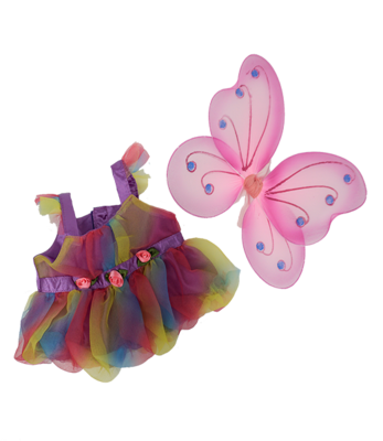 Fairy Butterfly Outfit - 16 inches