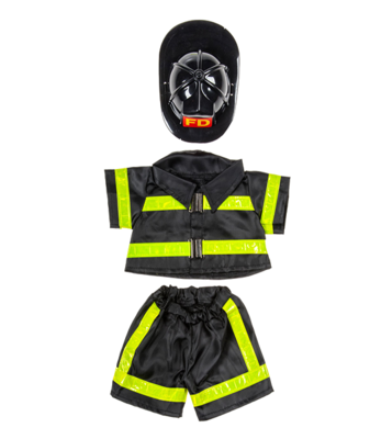 Fireman Outfit - 16 inches