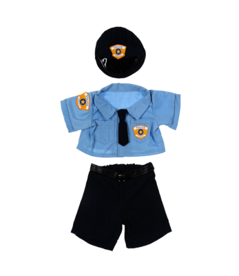 Police Outfit - 16 inches