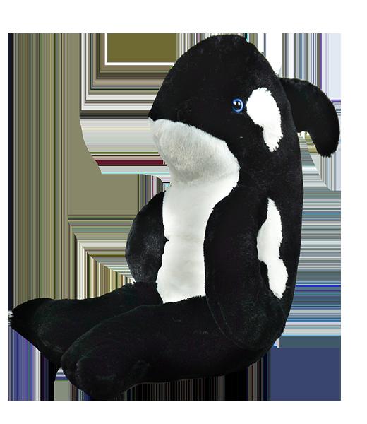 Tuxedo the Whale - Build-A-Plush Bundle - 16 inches