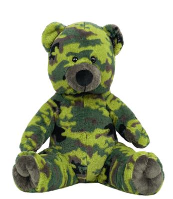 Jake the Camo Bear - Build-A-Plush Bundle - 16 inches