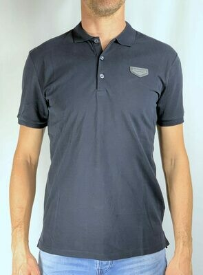 POLO WITH PATCH APPLIED ON CHEST