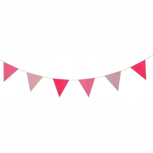 Bunting garland - Pink