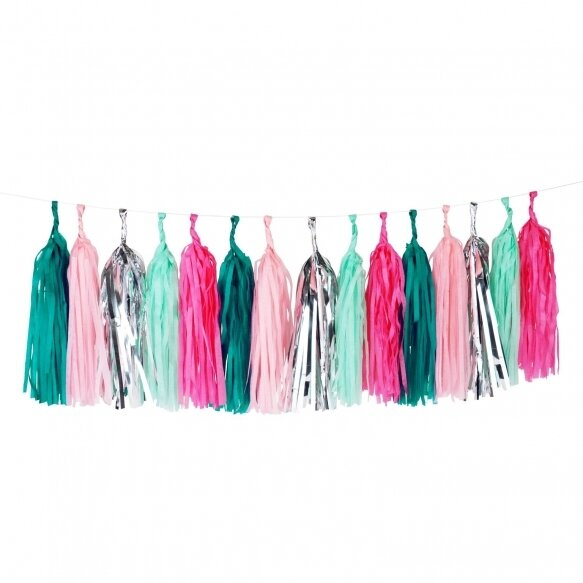 Tassel garland kit - Sea punk