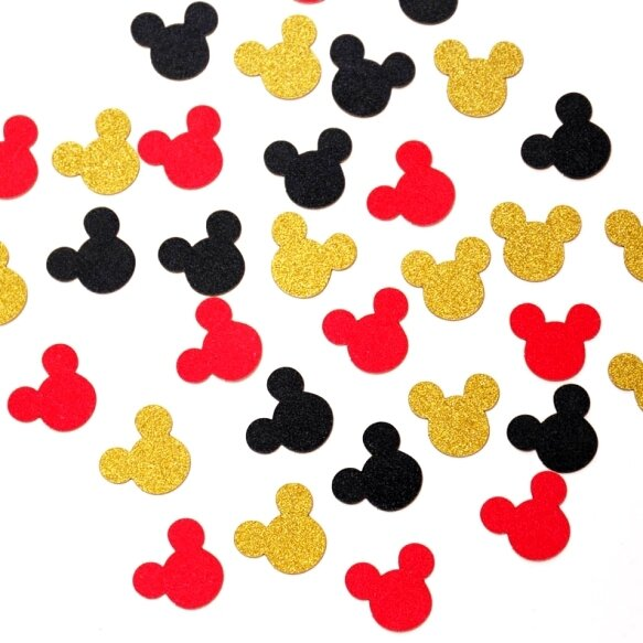 Mickey Head Confetti