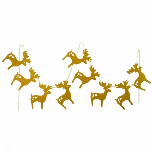 Gold Elks Garlands