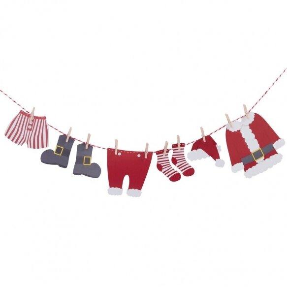 Santas Clothes Washing Line Bunting