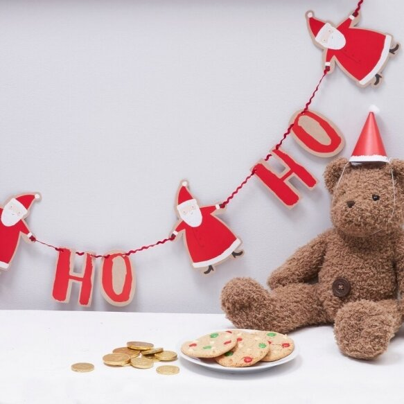 Ho Ho Ho Christmas Santa Bunting