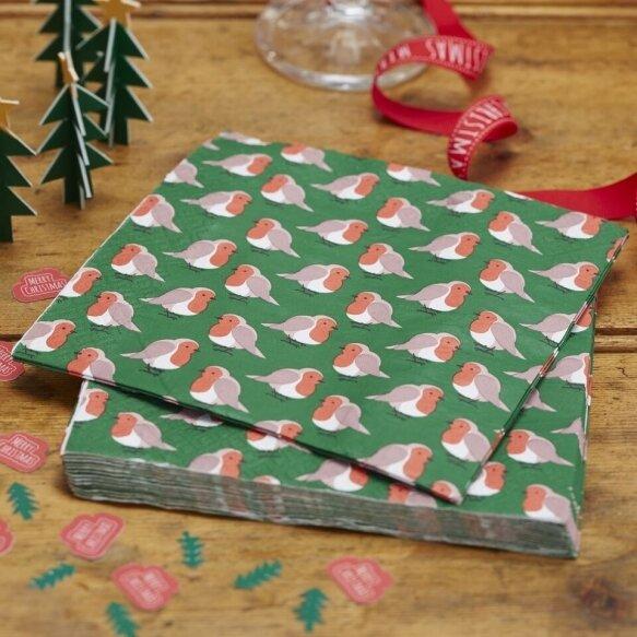 20 Pudding Paper Napkins